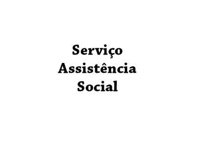 Serviço Assistência Social