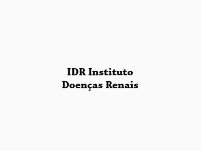 IDR Instituto Doenças Renais