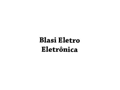 Blasi Eletro Eletrônica