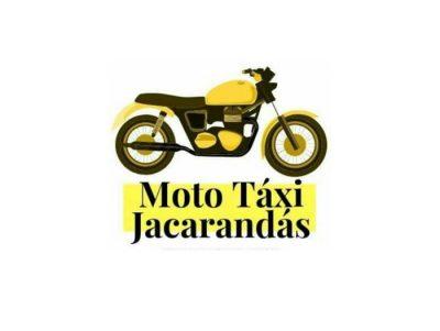 Moto táxi jacarandás