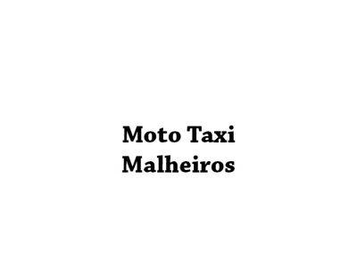 Moto Taxi Malheiros