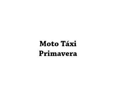Moto Táxi Primavera