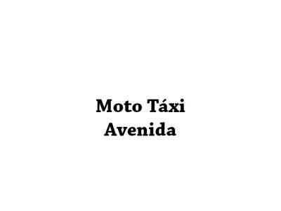 Moto Táxi Avenida