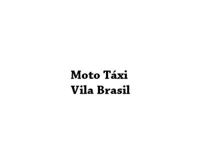 Moto Táxi Vila Brasil
