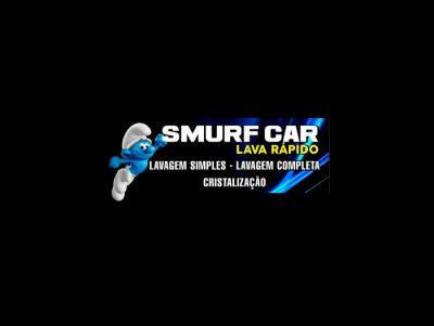 Smurf car lava rápido