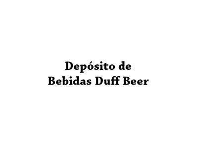 Depósito de Bebidas Duff Beer
