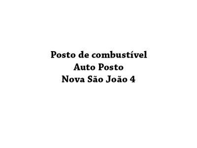 Auto Posto Nova São João 4