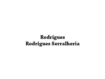 Rodrigues Rodrigues Serralheria