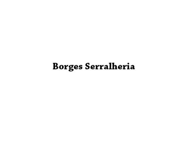 Borges Serralheria