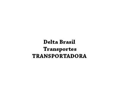 Delta Brasil Transportes