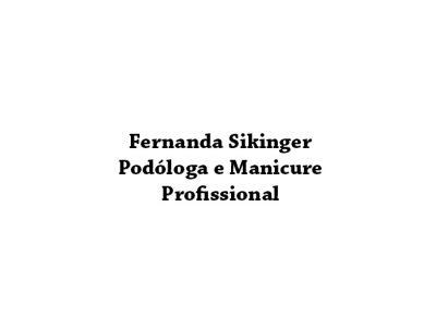 Fernanda Sikinger Podóloga