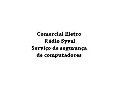 Comercial Eletro Rádio Syval