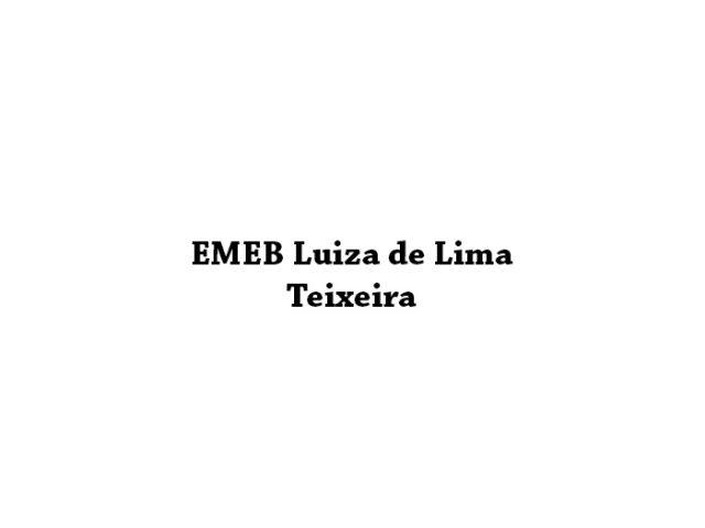 EMEB Luiza de Lima Teixeira