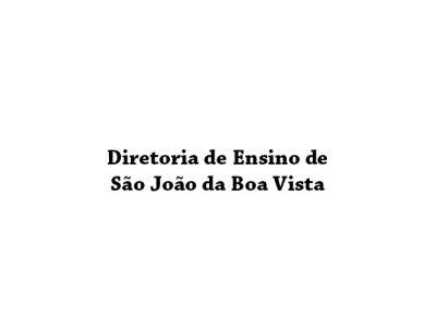 Diretoria de Ensino de São João da Boa Vista