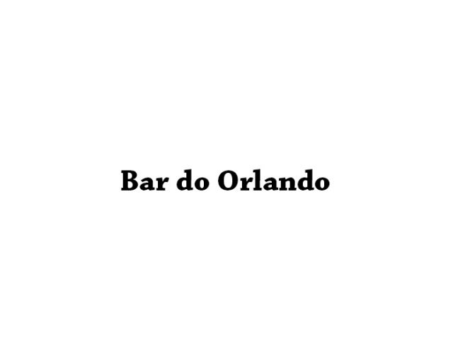 Bar do Orlando