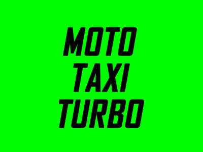Moto Taxi Turbo
